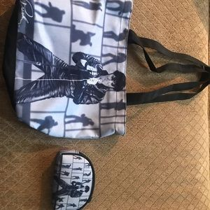 Elvis Purse with wallet